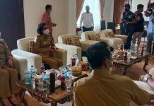 Pemkab Boltim Terima Kunjungan Bupati Bolmong dan Wali Kota Kotamobagu