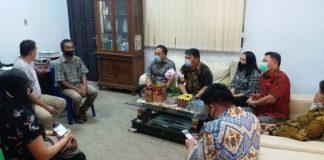 Sekretariat DPRD Kota Kotamobagu Terima Kunjungan Aleg Tomohon