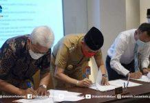 Pemkab Bolsel, Bank SulutGo dan BPKP Lakukan Penandatanganan Kerja Sama Pemanfaatan Aplikasi Kasda Online