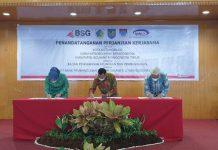 Pemkot Kotamobagu Tandatangani MoU dan PKS Bersama BSG