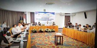 Pemkot Kotamobagu Menggelar Rakor Bersama Timpora dengan Kantor Imigrasi Kelas ll