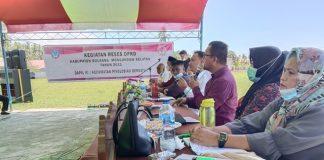 Hari Ketiga, DPRD Bolsel Dapil III Lakukan Reses di Kecamatan Pinolosian Induk