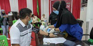 Pimpinan dan Anggota DPRD Kota Kotamobagu Jalani Vaksin Covid-19