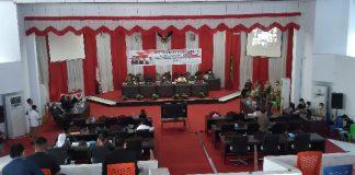 DPRD Kota Kotamobagu Paripurnakan LKPJ Wali Kota Kotamobagu Tahun 2020