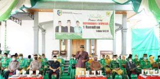 Jelang Ramadhan 1442 H, Bupati Bolmut Terima Prosesi Adat Mopohabaru