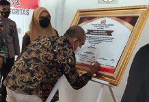 Wakil Ketua DPRD Hadiri Pencanangan ZI Polres Buol