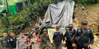 Polres Bolmong Tutup PETI di Area Hutan Lindung