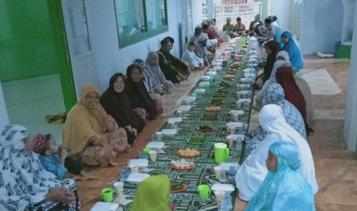 Pererat Silaturahmi, Pemdes Tangagah Gelar Bukber di Masjid Miftahulzanah