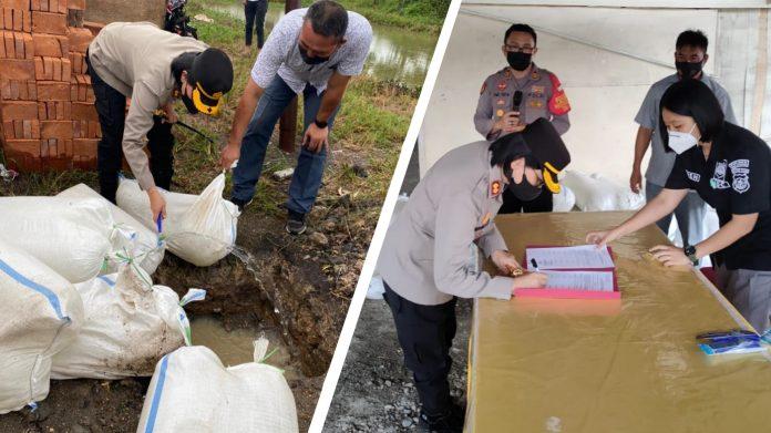 Polres Bolmong Musnahkan Ribuan Liter Miras Jenis Cap Tikus