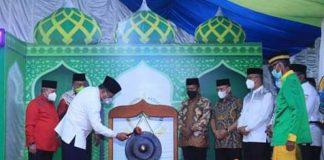 Resmi Buka STQ-H ke-Vll Tahun 2021, Bupati Berharap Peserta Lebih Meningkatkan Kualitas Keagamaan di Kabupaten Bolmut