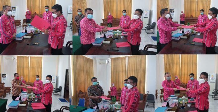 6 Pejabat Bolmong Terima SK sebagai Pelaksana Tugas