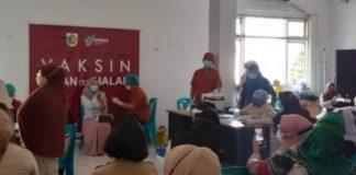 Guru SD dan SMP di Kota Kotamobagu Jalani Vaksinasi Covid-19 Tahap I