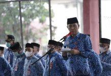 Pimpin Apel Perdana, Iskandar: Pemkab Akan Aktifkan Aplikasi Berka Untuk Pantau Kinerja ASN