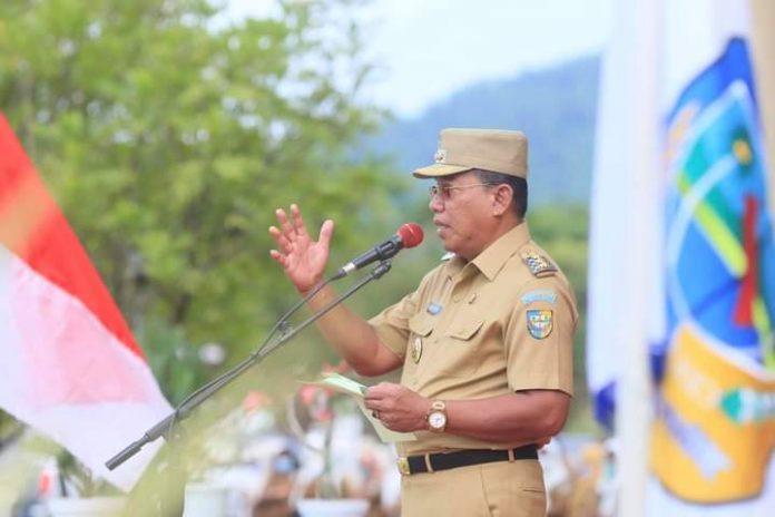 Bupati Bolmut Pimpin Apel Perdana ASN Pasca Idul Fitri 1442 Hijriyah