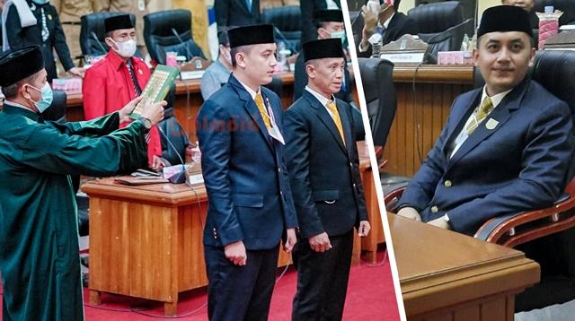 Dyas Potabuga Resmi Dilantik sebagai Anggota DPRD Bolmong