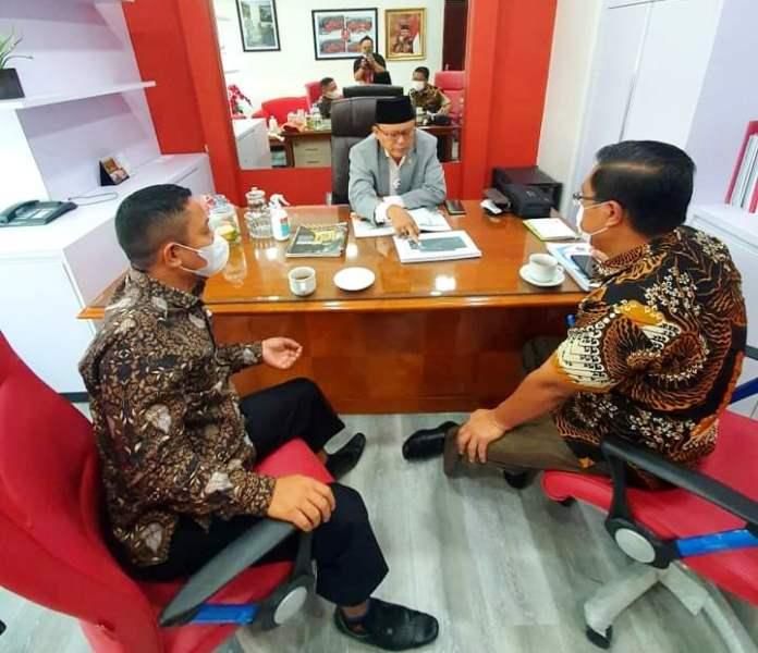H2M Terima Kunjungan Ketua Fraksi PDIP DPRD dan Kadis PUPR Kabupaten Kepulauan Talaud