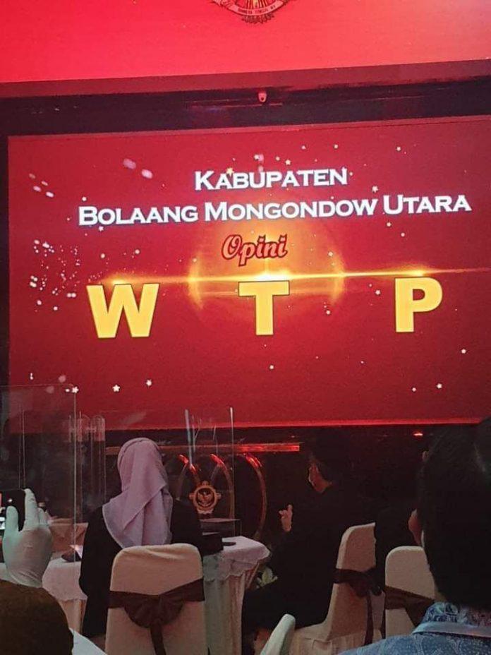 Kabupaten Bolmut Kembali Mendapat Opini WTP dari BPK RI