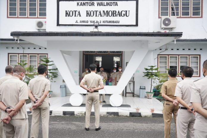 Gelar Apel Kerja Perdana, Kepala BKPP Kotamobagu: ASN Yang Tidak Ikuti Apel Akan Diberi Sanksi