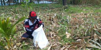 Manfaatkan Libur, Ketua DPRD Bolsel Memilih Berkebun