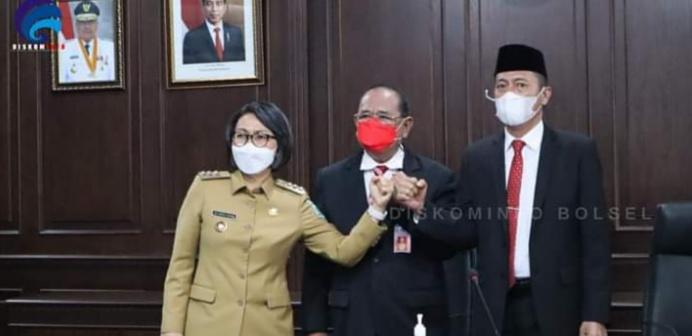 Difasilitasi Pemprov Sulut, Iskandar-Yasti Hadiri Rapat Pembahasan Batas Bolsel dan Bolmong