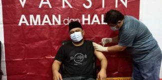 Pimpinan dan Anggota DPRD Kota Kotamobagu Jalani Vaksinasi Covid-19 Dosis Kedua