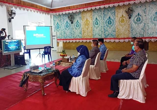 Wawali Kotamobagu Ikuti Peluncuran Literasi Digital Nasional oleh Presiden Jokowi