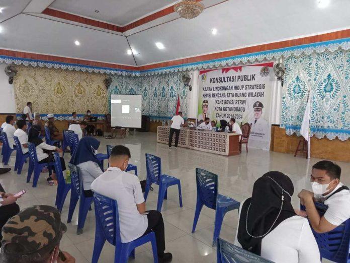 Sande Buka Kegiatan KLHS Revisi RTRW Kota Kotamobagu Tahun 2014-2034