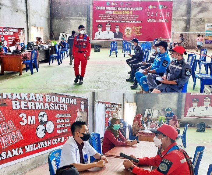 Karyawan dan Pekerja PT PP (Persero) Tbk Jalani Vaksinasi Covid-19 Tahap Dua