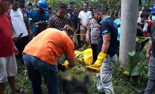 Penemuan Mayat di Tiang Listrik Hebohkan Warga Desa Passi