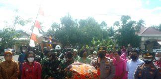 Wali Kota Tatong Bara Sambut Kedatangan Pangdam XIII/Merdeka dan Kapolda Sulut