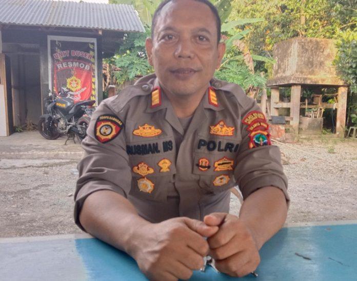 Kapolsek Pinolosian Imbau Kepala Desa Terpilih Tidak Bereuforia Usai Dilantik