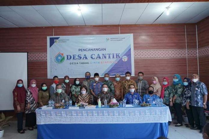 Desa Tabang Terpilih dalam Program Desa Cantik, Wali Kota Apresiasi Badan Pusat Statistik