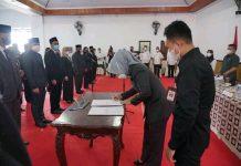 Wali Kota Tatong Bara Lantik 125 Pejabat di Lingkup Pemkot Kotamobagu