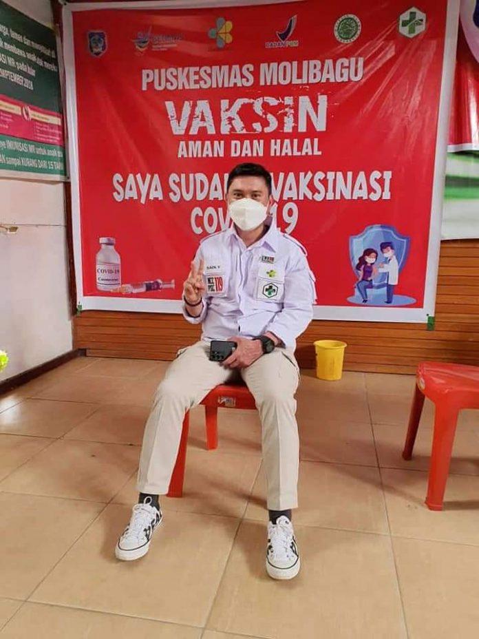 Masyarakat Bolsel Antusias Ikuti Vaksinasi Massal yang Dilakukan Dinkes