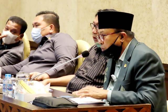 Beberapa Hal Penting Disampaikan Herson pada Rapat Kerja Bersama Kementerian Desa-PDTT
