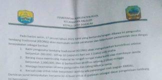 Klarifikasi Tudingan Pungli, Ketua BPD: Ini Indikasi Provokatif dan Hasut Oleh Segelintir Oknum