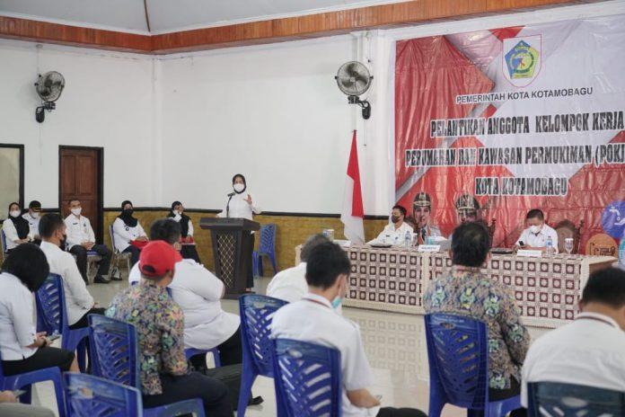 Kelurahan Mogolaing Juara Kotamobagu Bisa Award Bidang Sanitasi Tahun 2021