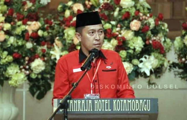 Hadiri Rakercab PDI Perjuangan se-BMR, Ketua DPC Bolsel Siap Dukung Puan Maharani di Pilpres 2024-2029