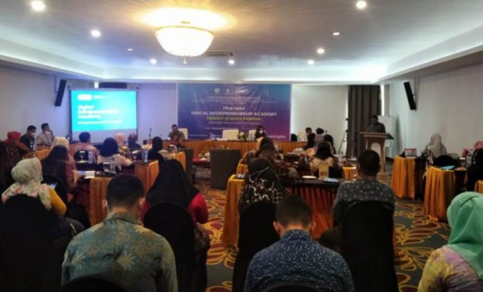 Diskominfo Bolmong Berikan Pelatihan kepada 50 Pelaku Usaha UMKM