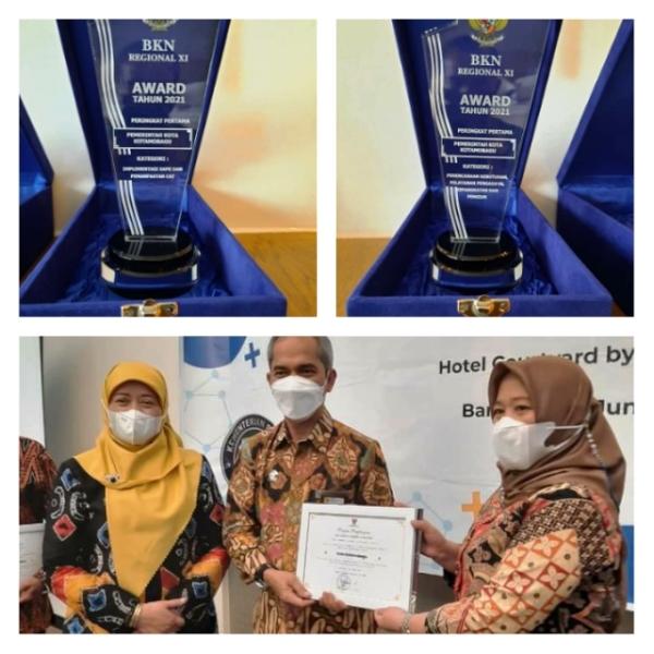Kota Kotamobagu Wakili Tiga Provinsi dalam Perebutan BKN Award Nasional