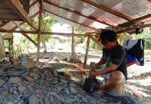 Meski Teknologi Makin Modern, Tapri Tetap Eksis Membuat Batu Lesung dan Cobek