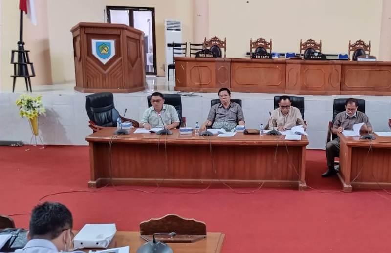 DPRD Bolmong Bahas Dua Ranperda