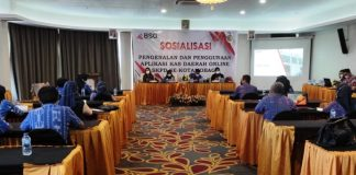 Pemkot Kotamobagu Bersama BSG Gelar Sosialisasi Kasda Online
