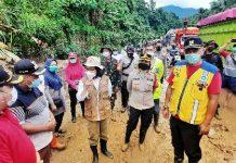 Tinjau Lokasi Banjir dan Tanah Longsor, Bupati Bolmong Langsung Carikan Solusi