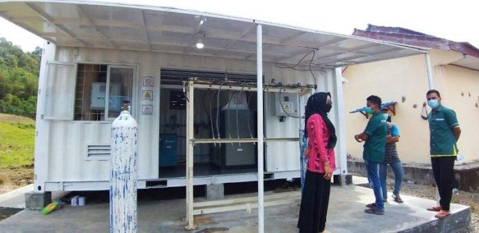YSM Hadirkan Alat Produksi Oksigen di RSUD Datoe Binangkang