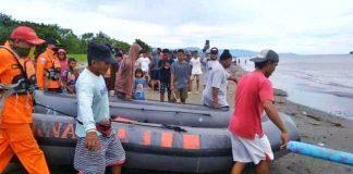 Cari Warga Bolmong Hilang, Basarnas Rayakan Idul Adha di Laut