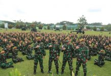 Danpussenarmed Kodiklatad TNI Berkunjung ke Yonarmed 18/Komposit Buritkang