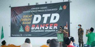 Wakil Wali Kota Hadiri DTD GP Ansor Kota Kotamobagu