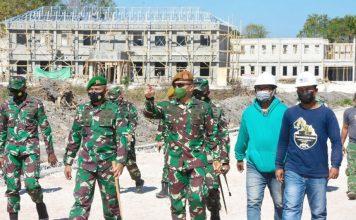 Danpussenarmed Kodiklatad TNI Tinjau Yonarmed 20/155 di Camplong Kupang