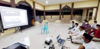 Kemenag Bolmong Gelar Takziah 7 Malam Berpulangnya Almarhum Muhtar Bonde